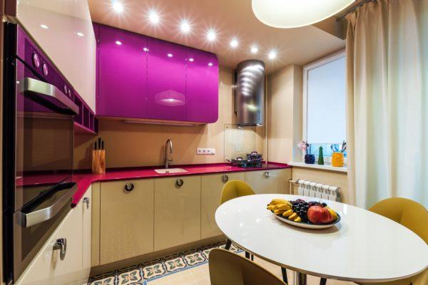 Ремонт и новый дизайн преобразят вашу маленькую кухню