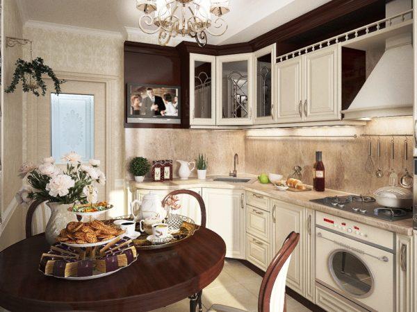 Каждой хозяйке хочется, чтоб в ее доме была хоть и маленькая, но уютная кухня