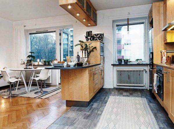 Разделять или объединять кухню и жилую площадь решать вам