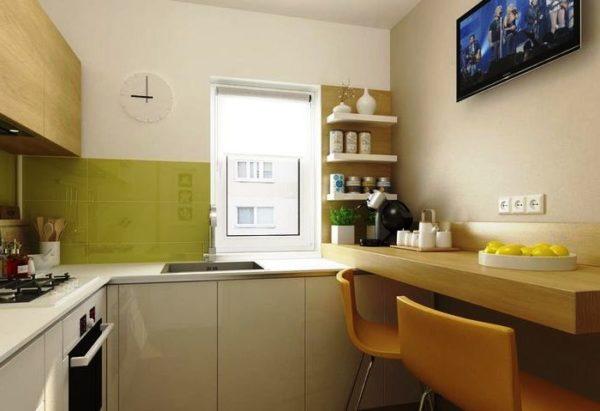 Барная стойка может заменить обеденный стол - стильно и современно