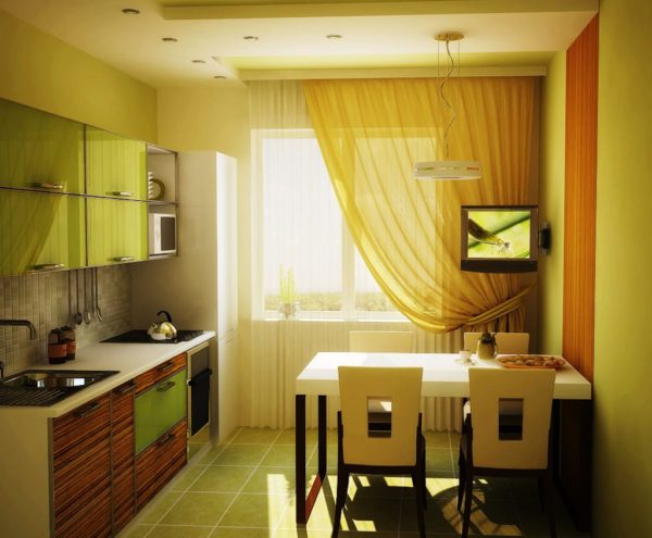 4 Дизайн маленькой кухни 7 кв м