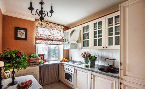 В деревенском стиле прованс на вашей кухне всегда будет уютно и светло