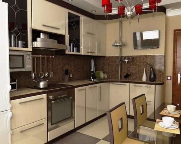 Разработка дизайна маленькой кухни 7 кв. м — это настоящий творческий процесс, с непростой задачей, но действительно впечатляющим результатом