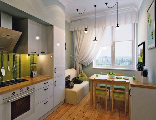 дизайн маленькой кухни 7 кв м