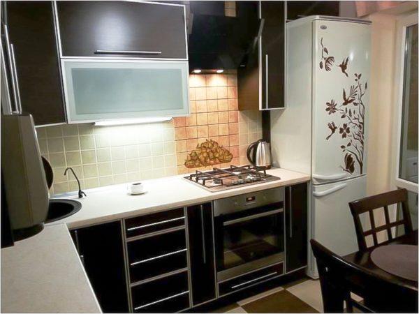 2 Дизайн маленькой кухни 7 кв м