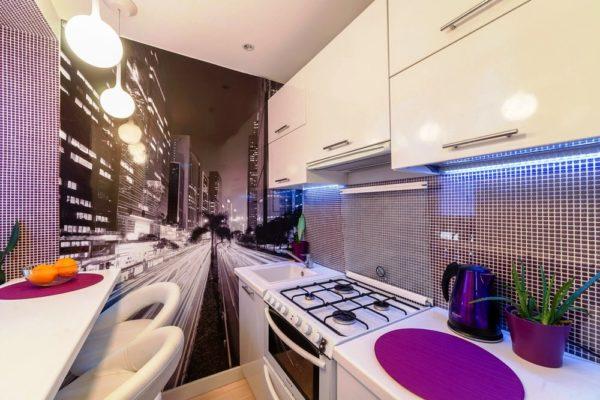 2 дизайн маленькой кухни