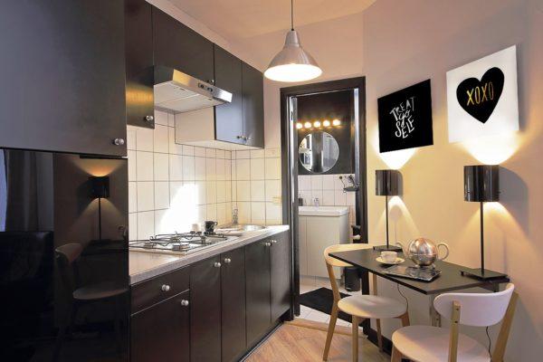 2 интерьер маленькой кухни