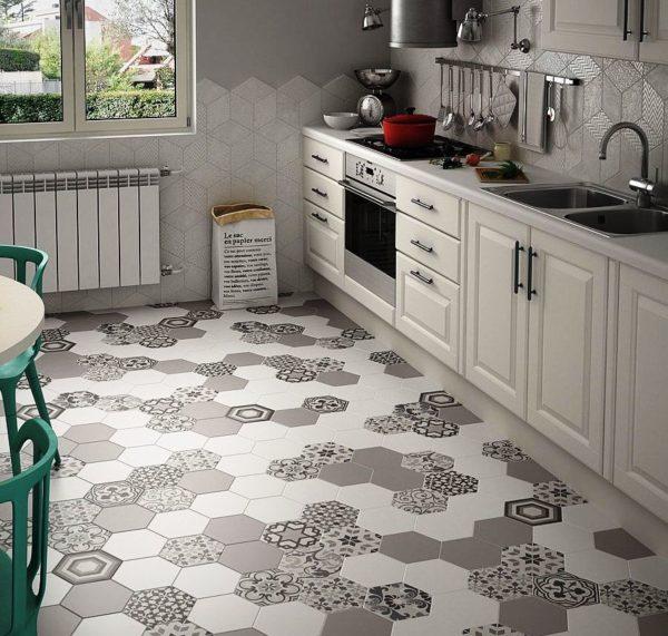 Керамическую плитку можно выбрать любого размера, расцветки и формы