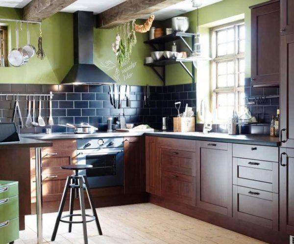 Создай свой дизайн малогабаритной кухни кухни!