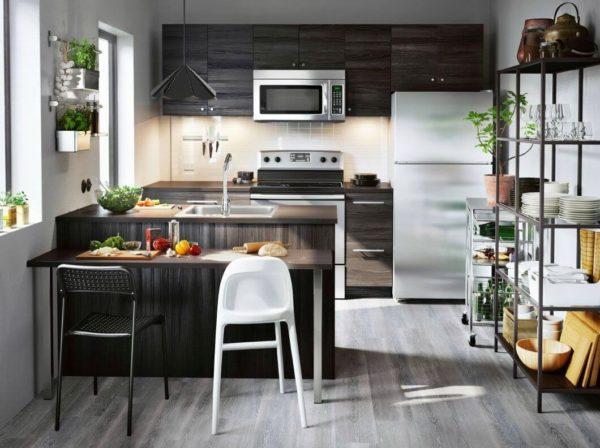 Мебель для кухни на заказ от ИКЕА - отличный выбор для тех, кому нужна качественная и недорогая кухня