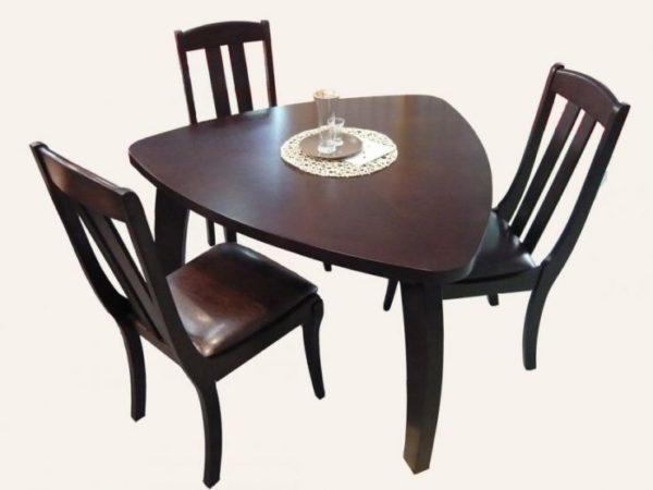 Круглая и овальная форма мебели, или любая другая конфигурация со скошенными углами, приветствуется учением фэн-шуй и высоко ценится его последователями 2