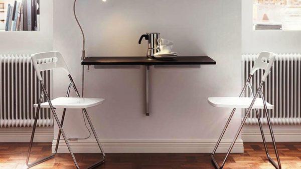 Складной стол на маленькой кухн