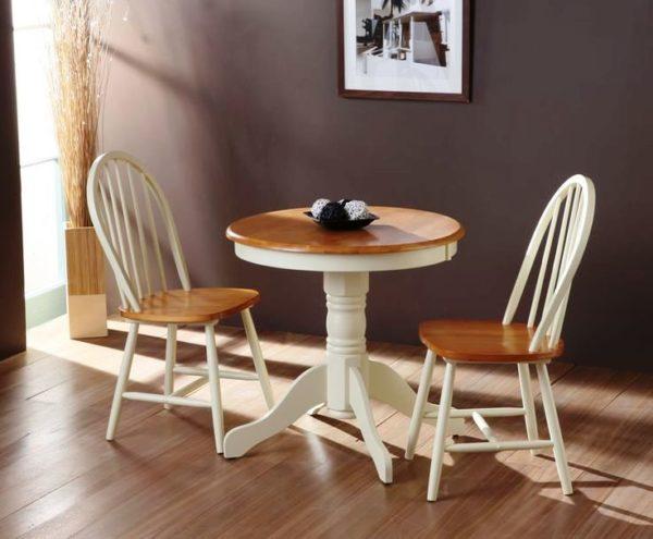 Цвет столов для маленькой кухни 5