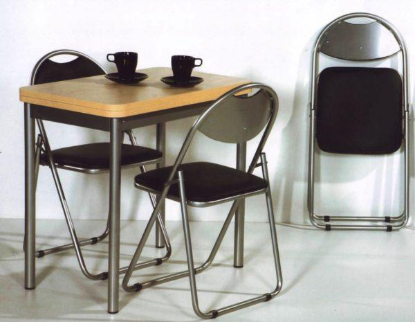 Складные стулья для маленькой кухни 3