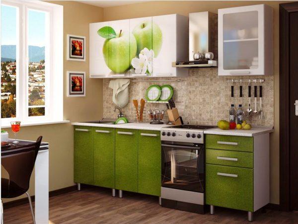 Современная модульная мебель для маленькой кухни 5