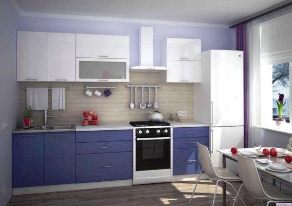 Современная модульная мебель для маленькой кухни 3