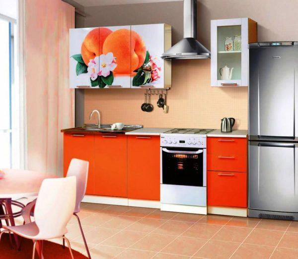 Современная модульная мебель для маленькой кухни 1
