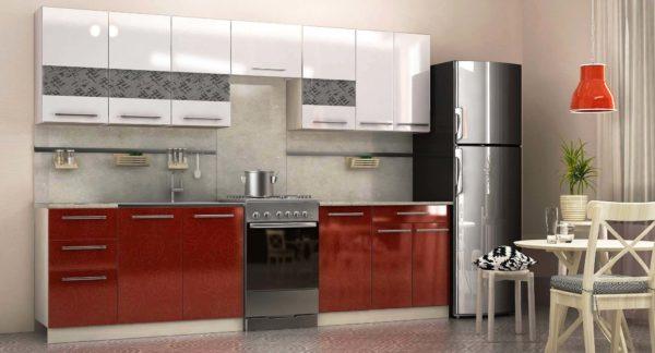 Современная модульная мебель для маленькой кухни