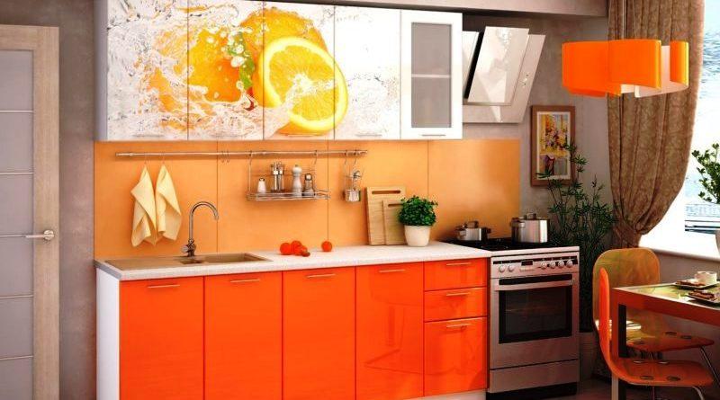 Модульная мебель на маленькой кухне