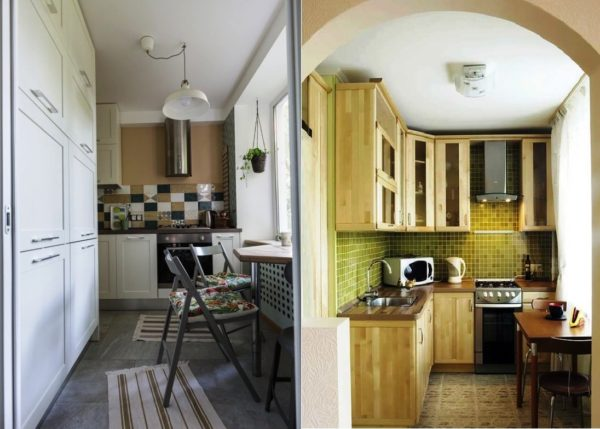 Дизайн кухни в хрущевке 6