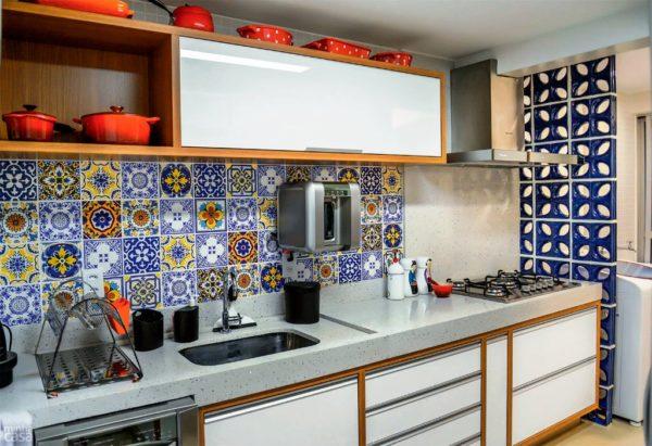 Кухня в мексиканском стиле 1