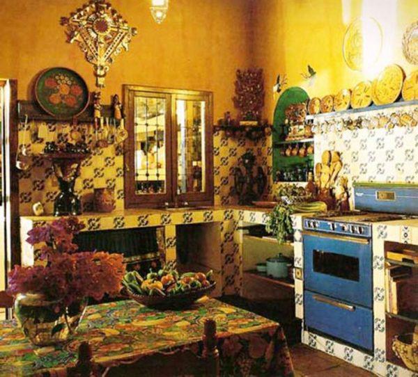 Мексиканский стиль на кухне 5
