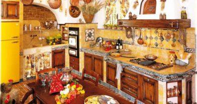 Мексиканский стиль на кухне