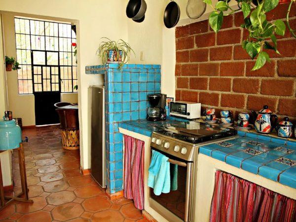 Кухня в мексиканском стиле 4