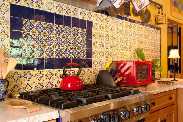 Кухня в мексиканском стиле 3