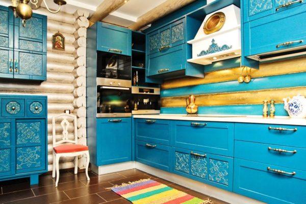 Ручки ящиков и шкафов вполне подойдут, чтобы добавить тонкие штрихи мексиканского стиля