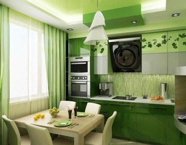 От выбранного цвета в интерьере зависит все настроение на кухне