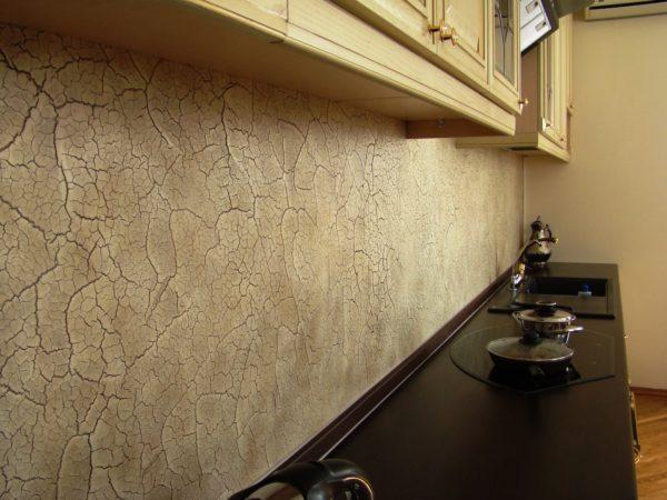 Фактурные стены для кухни 2