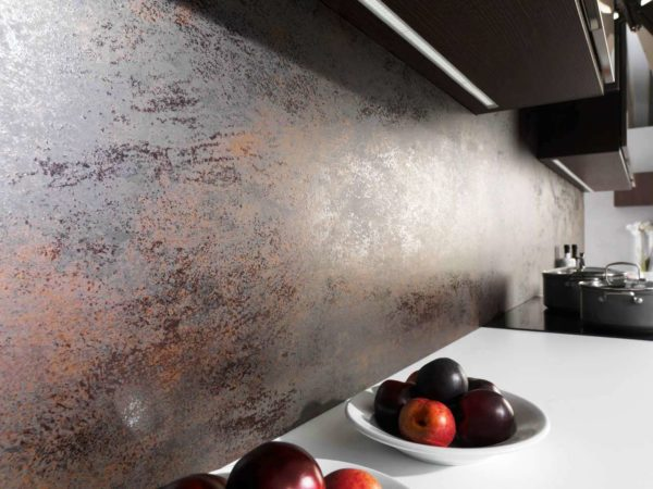 Фактурные стены для кухни 1
