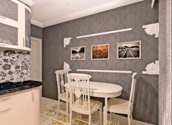 Фактурные стены для кухни 5