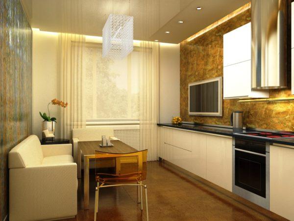 Декор стен на кухне 7