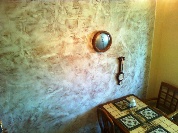 Фактурные стены для кухни 4