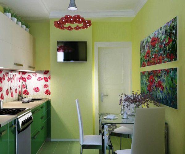Декор стен на кухне 6