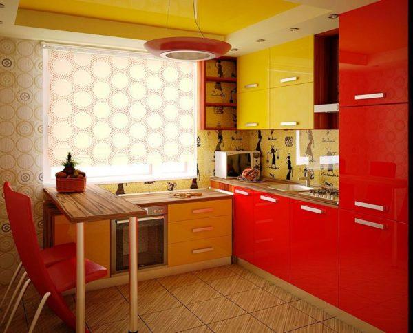 Декор стен на кухне 3