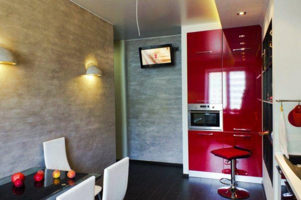 Декор стен на кухне 5