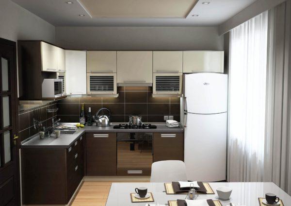 Решая, как сделать ремонт на кухне, в первую очередь рассматриваются отделочные материалы с учетом затрат на приобретение и возможность самостоятельного монтажа