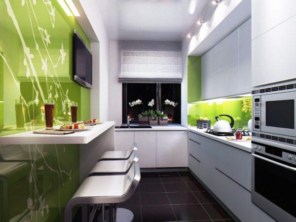 Кухня в любом стилле будет выглядеть гармонично, если продумана каждая деталь