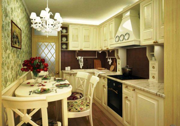 Кухня в классическом стиле 1
