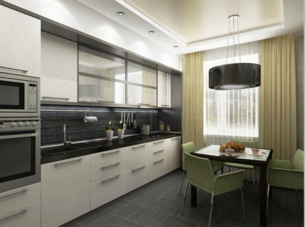 Фотопример кухни по дизайн проекту 1
