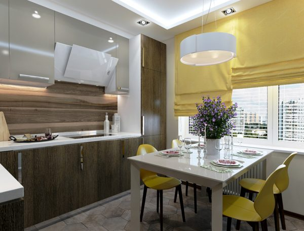 Фотопример кухни по дизайн проекту 3