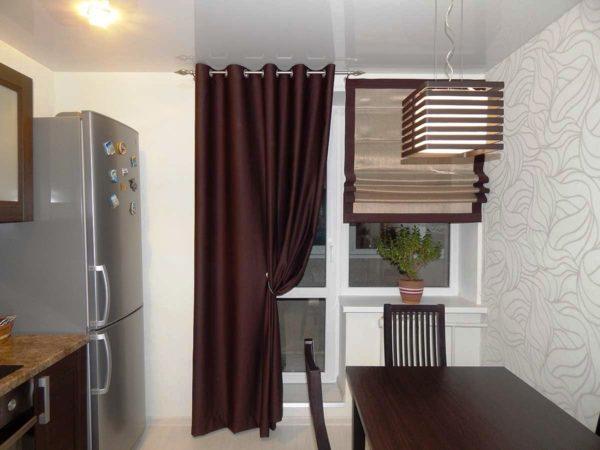 Самый удачный выбор - комбинированные шторы