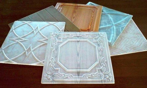 Разновидности потолочной плитки из пенополистирола