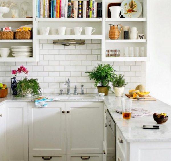 Кухни с белым дизайном