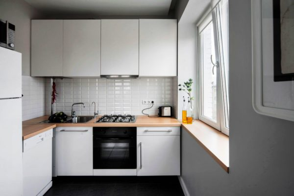Дизайн угловой кухни 5 кв метров