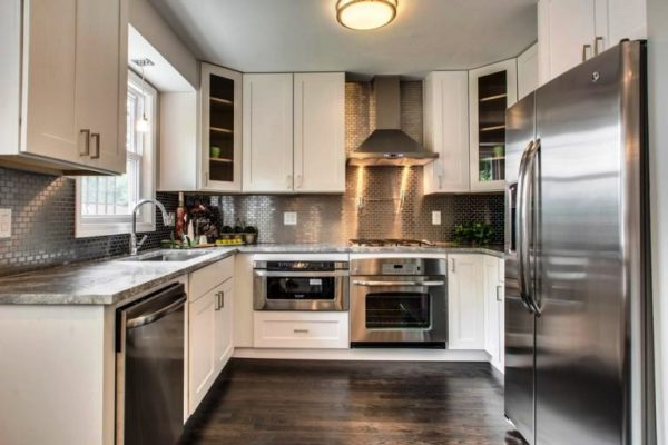 Дизайн угловой кухни 9 кв метров