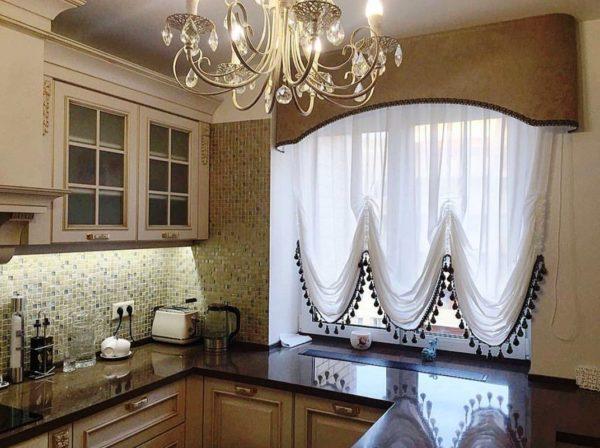 Как выбрать шторы на кухню 3